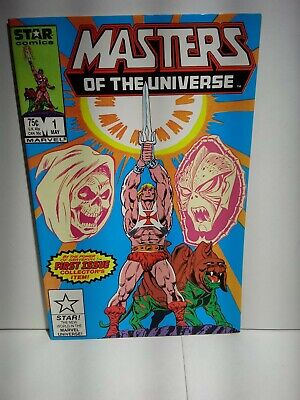 $29 • Buy Masters Of The Universe #1 NM / High Grade He-Man 1986 Marvel Star Series