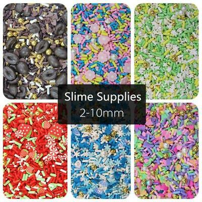 AU3.92 • Buy 200Pcs Mixing Slices Slime Charms Filler Supplies Accessories For Slime Fluffy