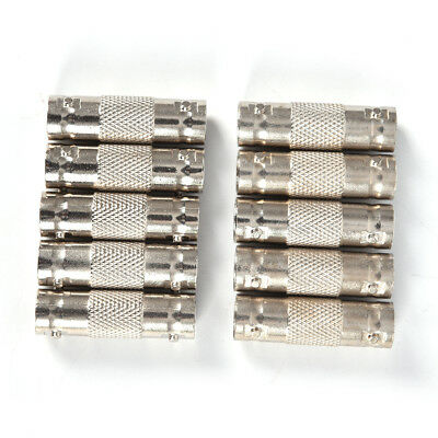 $ CDN4.62 • Buy 10Pcs BNC Female To BNC Female Connector Couplers Adapter For CCTV Video Came *i