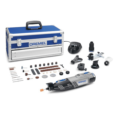 Dremel 8220-5/65 12v Cordless Multi Tool Kit 5 Attachments & 65 Accessories • 169.95£