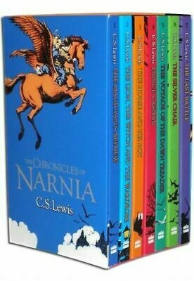 £12.73 • Buy The Chronicles Of Narnia 7 Books Box Set Collection By C.S. Lewis (New)