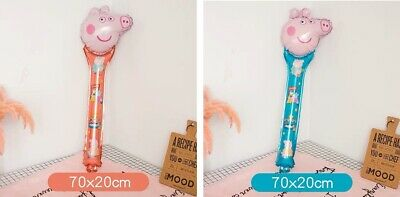 Clearence: 15'' Mini Peppa/George Pig Handrail Balloons Party Decorations 20pcs • 3.50£