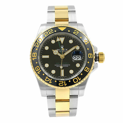 $ CDN16666.16 • Buy Rolex GMT-Master II 116713 Steel 18K Yellow Gold Automatic Mens Watch