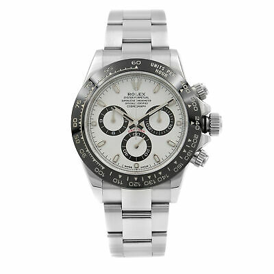$ CDN32704.93 • Buy Rolex Daytona White Panda Dial Steel Ceramic Automatic Mens Watch 116500LN W
