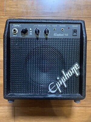 $ CDN32.94 • Buy Epiphone Electar 10 Solid State Electric Guitar Amp Excellent - No Power Cord