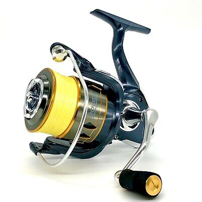 Rovex Power Spin 6000 Reel With Free Braid, Distance Feeder Fishing, Bream, Carp • 35.99£