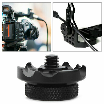 Portable Camera Cable Clip Cage 6 Wire Slot Clamp Protection Fixator For SLR Cam • 3.92£