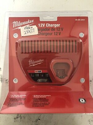 $ CDN6.71 • Buy Brand New Milwaukee M12 Lithium Ion 12 Volt Battery Charger