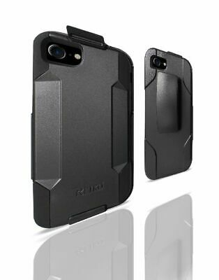 AU13.50 • Buy Reiko IPhone 8/ 7 3-In-1 Hybrid Heavy Duty Holster Combo Case In Black