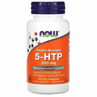 $ CDN28.55 • Buy Now Foods 5-HTP Double Strength 200 Mg 60 Veg Capsules GMP Quality Assured,