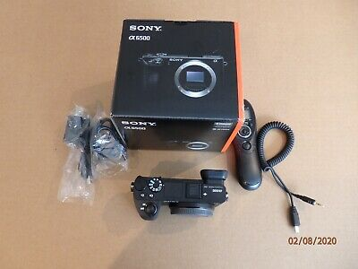 $ CDN1166.72 • Buy Sony Alpha A6500 24.2MP Digital Camera - Black Body And Extras ,Mint Condition