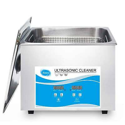 AU126.99 • Buy 1.3L Digital Ultrasonic Cleaner Jewelry Ultra Sonic Bath Degas Parts Cleaning