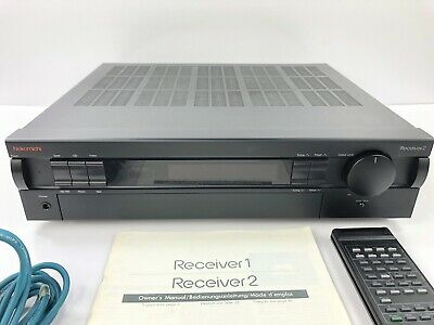 $200 • Buy NAKAMICHI Receiver 2 Stereo W/ Original REMOTE #D11 305955
