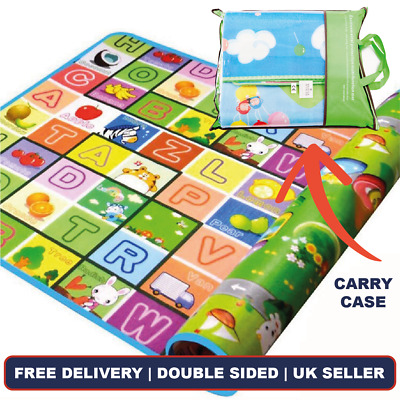 £8.99 • Buy Bravich Modern Kids Educational Double Soft Play Mat Childrens Playroom Carpet