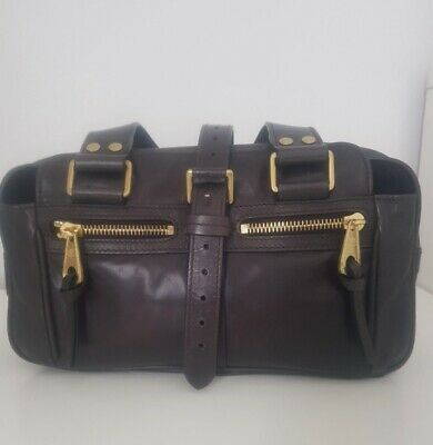 £250 • Buy Mulberry Small Mabel Shoulder Bag - Soft Chocolate Brown Leather.