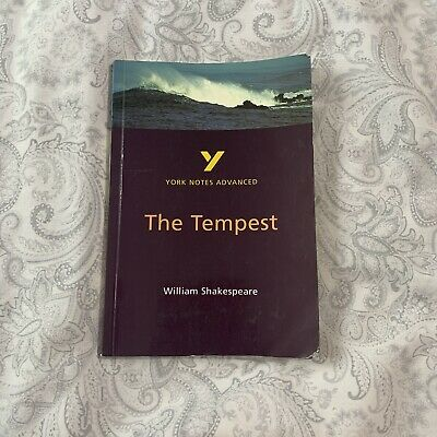 York Notes Advanced The Tempest Study Guide • 2.75£