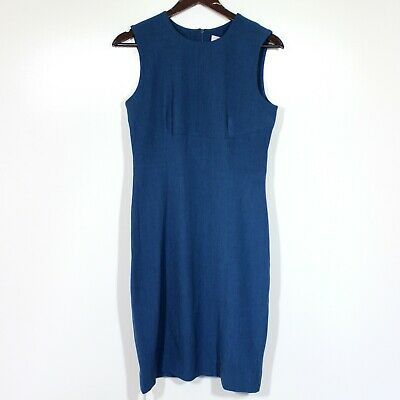 $ CDN201.37 • Buy MM Lafleur Shirley Sleeveless Dress Pacific Blue Size US 6 New $195