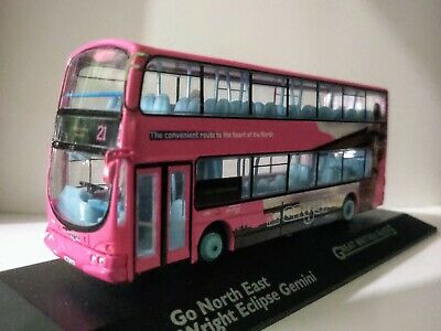 """Atlas Editions Wright Eclipse Gemini Bus - Go North East """"The Angel"""" • 25.99£"""