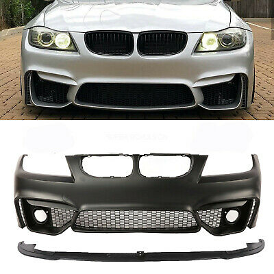 $412.02 • Buy F80 M4 Style Look Front Bumper  For  BMW 3 Series E90 4DR 2008-2011