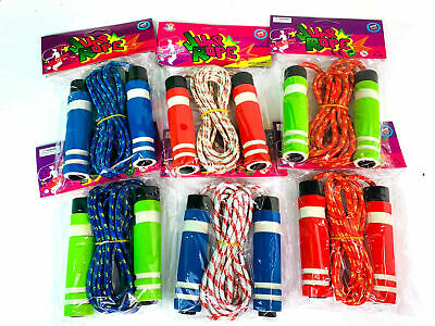 £2.49 • Buy Skipping Rope Soft Handle Childrens Jump Boxing Fitness Speed Rope Adult Kids