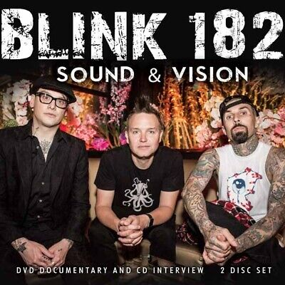 BLINK 182 SOUND AND VISION (CD+DVD) - 2CD Mint / Mint • 3.99£