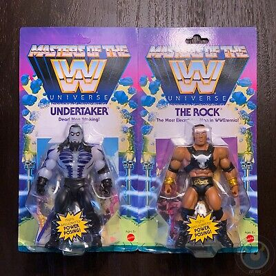 $44.98 • Buy Masters Of The WWE Universe Undertaker & The Rock Mattel In Hand Ships Today!