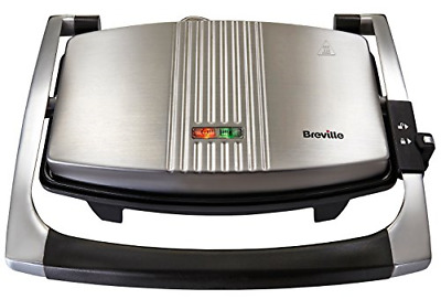 Breville Sandwich/Panini Press And Toastie Maker, Stainless Steel [VST025] • 35.39£