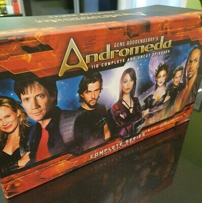 Andromeda The Complete Series Fifty Disc Box Set • 99.99£