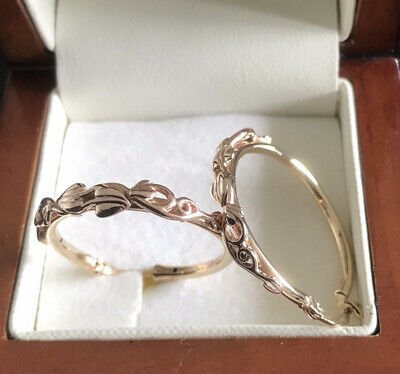 Yellow And Rose Gold Hoop Earring Possibly Clogau 3.86g • 149£