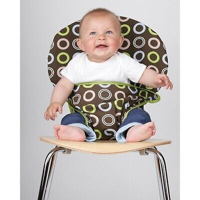 Totseat Washable Fabric Highchair Portable Travel Baby Toddler 8 To 30 Months • 9.99£