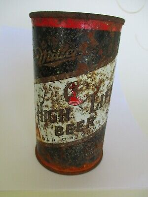 $6.99 • Buy Miller High Life Witch Moon Beer Flat Top Rare Can  Man Cave