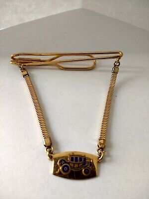 $2 • Buy Vintage Carriage Tie Chain ~ Gold Tone