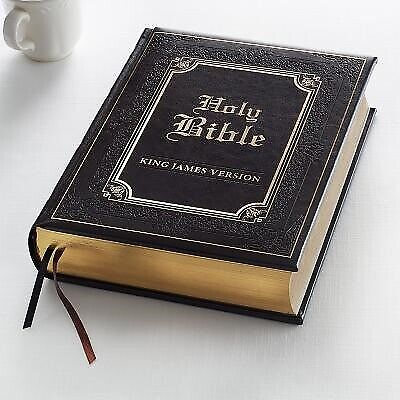 AU84.99 • Buy KJV Family Bible Lux-Leather By