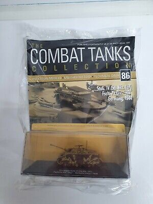 DeagostiniCombat Tanks Collectionmodels NO. 86 Sd Kfz 167 NEW With Magazine • 9.99£