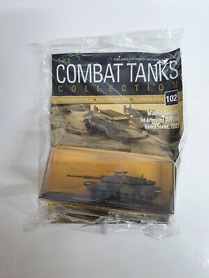 £9.99 • Buy DeagostiniCombat Tanks Collectionmodels NO.102 M1a1ha NEW With Magazine