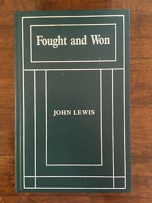 AU20 • Buy Book - FOUGHT AND WON By JOHN LEWIS Limited Edition Reprint Number 148 Of 200