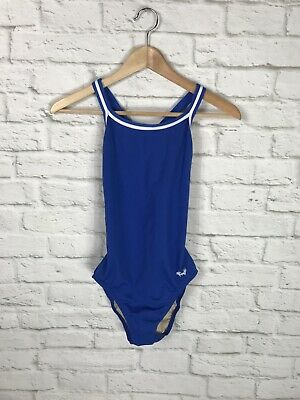 $11.99 • Buy DOLFIN Womens Royal Blue Athletic One Piece Swimsuit Size 34