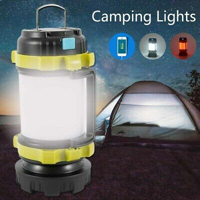 AU27.99 • Buy Portable USB Rechargeable Camping Lantern Hiking Tent Outdoor Lamp Light AU