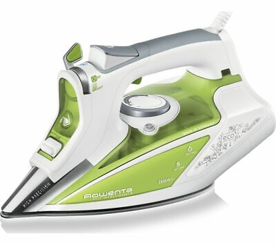 View Details TEFAL Rowenta Eco Intelligence DW9210 Steam Iron White & Green - Currys • 64.99£