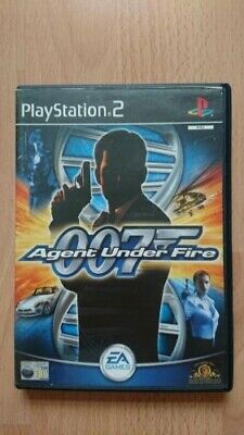 James Bond 007 Agent Under Fire Sony Playstation 2 PS2 Game • 1£