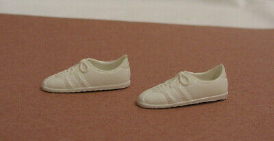 $4.99 • Buy  Vintage 1970s Kenner Dusty Doll Tennis Shoes Skye White 2 Shoes Pair