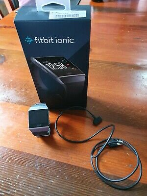 AU90 • Buy Fitbit Ionic Smart Fitness Watch In Excellent Condition!