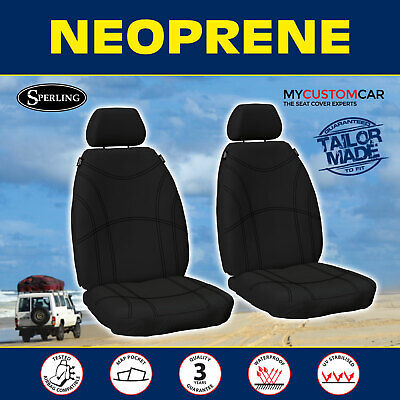 AU164.90 • Buy Ford Everest (UA) 2015-on Neoprene FRONT Seat Covers Waterproof Car Custom