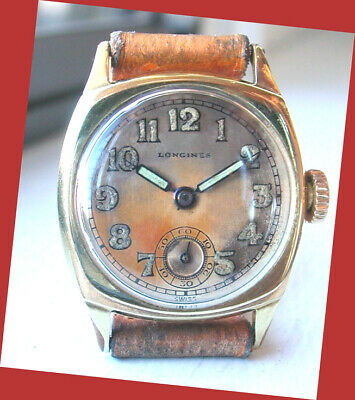 $ CDN191.56 • Buy Vintage Gentlemens LONGINES W.watch - BEAUTIFUL Orig. Condition - TROPICAL DIAL