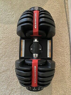 $ CDN480 • Buy Bowflex SelectTech 552 Adjustable Dumbbell (SINGLE) Lightly Used