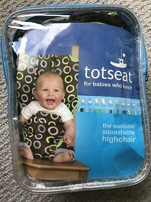 Portable Totseat Travel High Chair With Its Pouch And Instructions • 1.80£