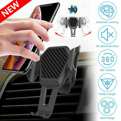 360° Rotatable In Car Mobile Phone Holder Clamp Air Vent Universal Mount Cradle • 4.99£