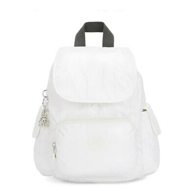 Kipling City Pack Mini Backpacks Suitcases And Bags White Unspecified • 65.99£