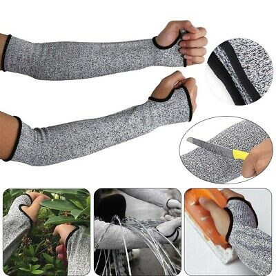 Safety Resistant Sleeves Arm Guard Garden Anti Heat Work Cut Protective Gloves • 6.69£