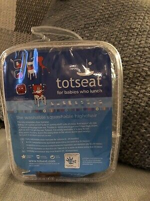 'Totseat' Childs Fabric Highchair, Age 8-30 Months • 4.50£